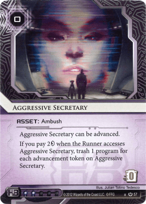 Aggressive Secretary