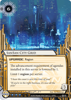 SanSan City Grid