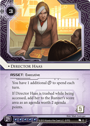 Director Haas