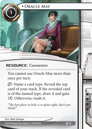 Oracle May