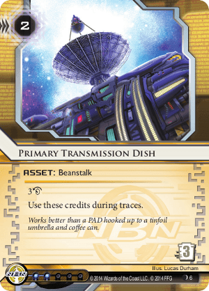 Primary Transmission Dish
