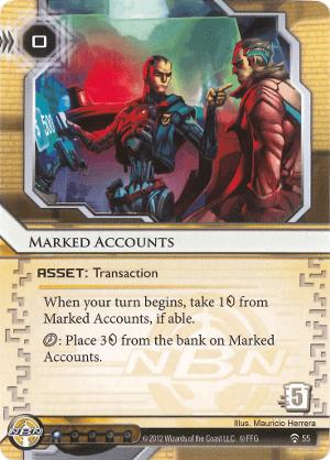 Marked Accounts