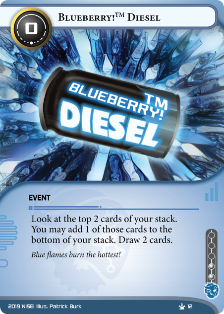 Blueberry!™ Diesel
